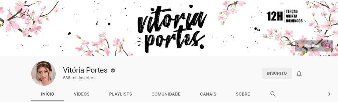 Vitória Portes | Youtube
