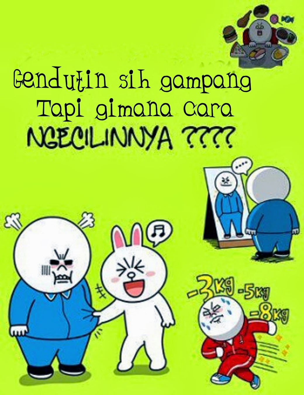 Kumpulan Display Picture DP Bbm Line Lucu Brown And Cony Kompi