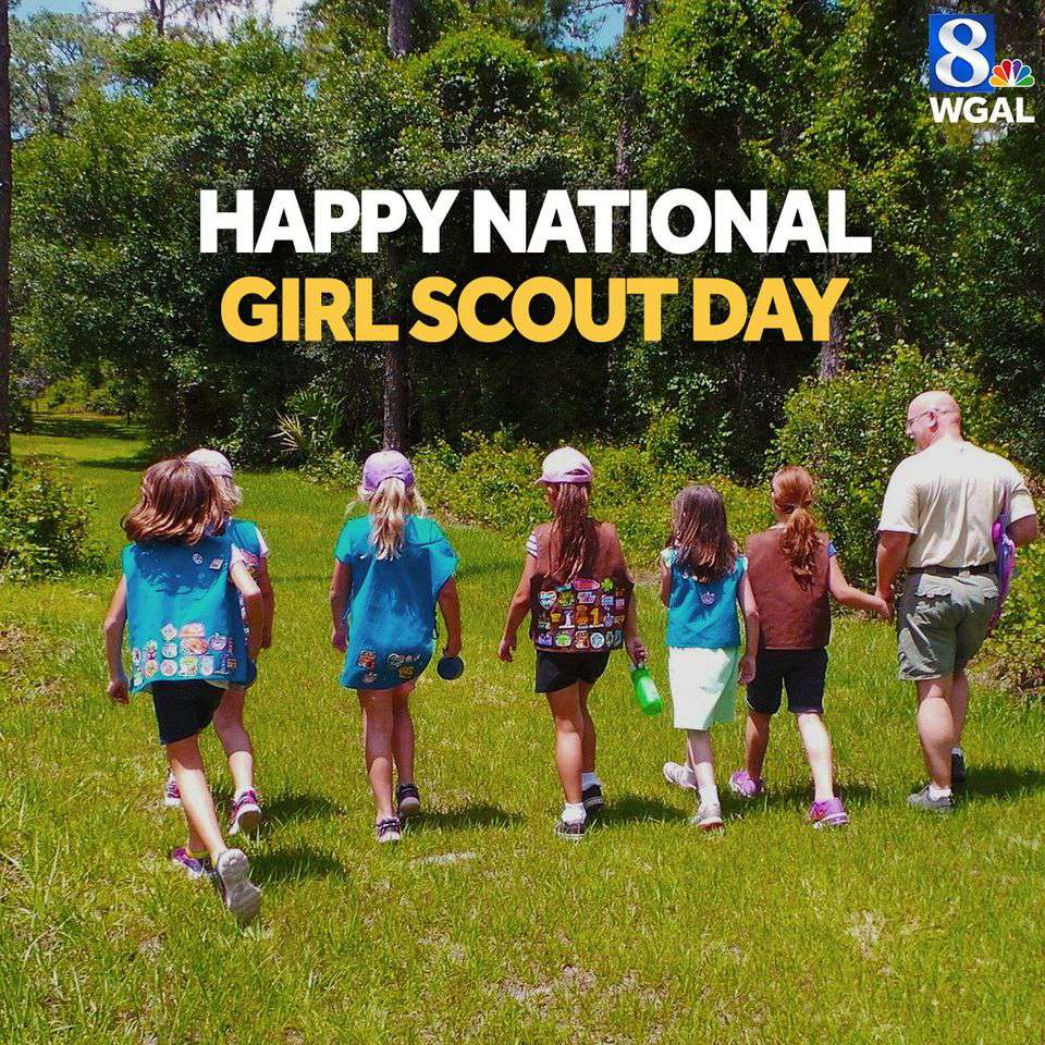 National Girl Scout Day Wishes Unique Image