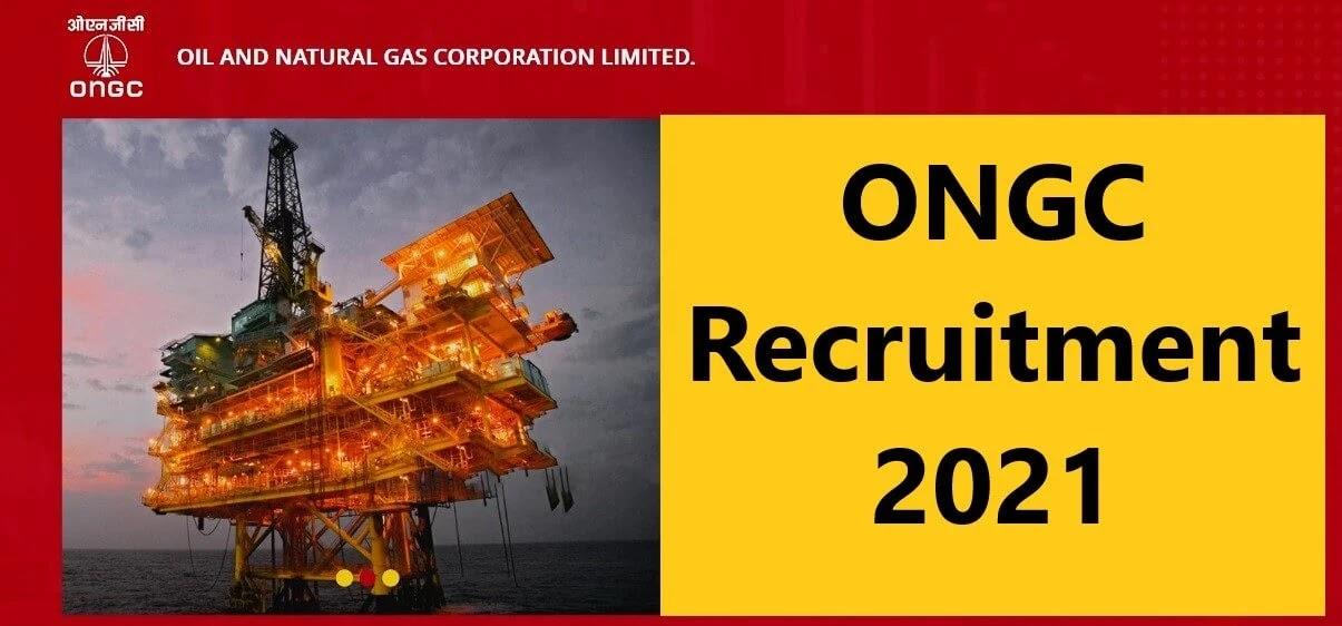 ONGC (Graduate Trainee) Recruitment 2021 – Apply
