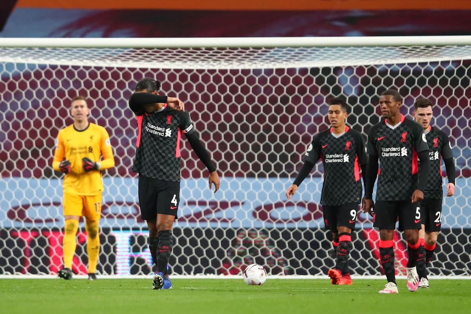 Aston Villa 7 Liverpool 2 Premier League