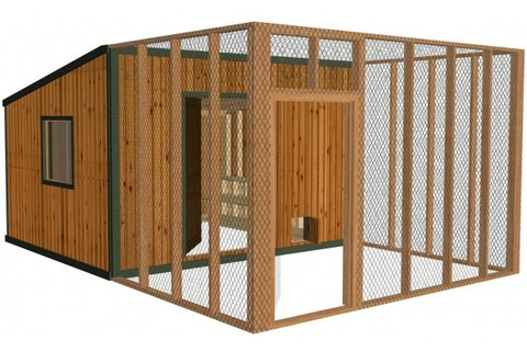 how to build a chicken coop for 10 chickens
