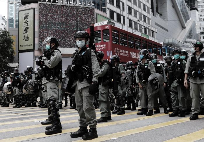 Ribuan Polisi Akan dikerahkan Pada Aksi Unjuk Rasa Yang Akan dilaksanakan Pada 1 Juli Besok