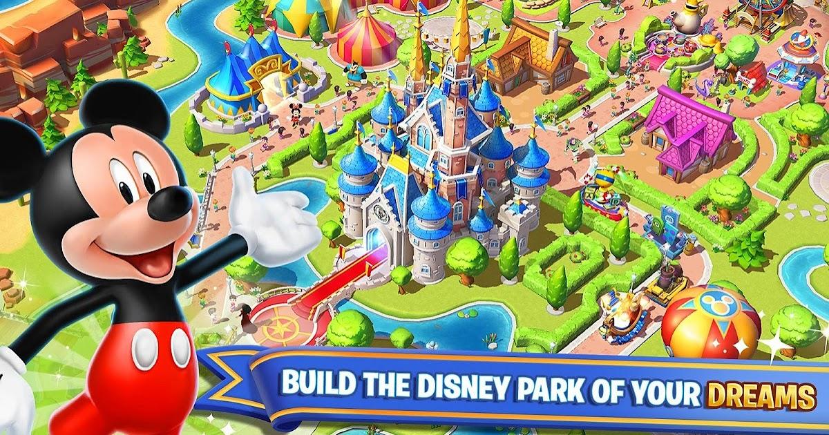 تحميل لعبة disney magic kingdoms مهكرة
