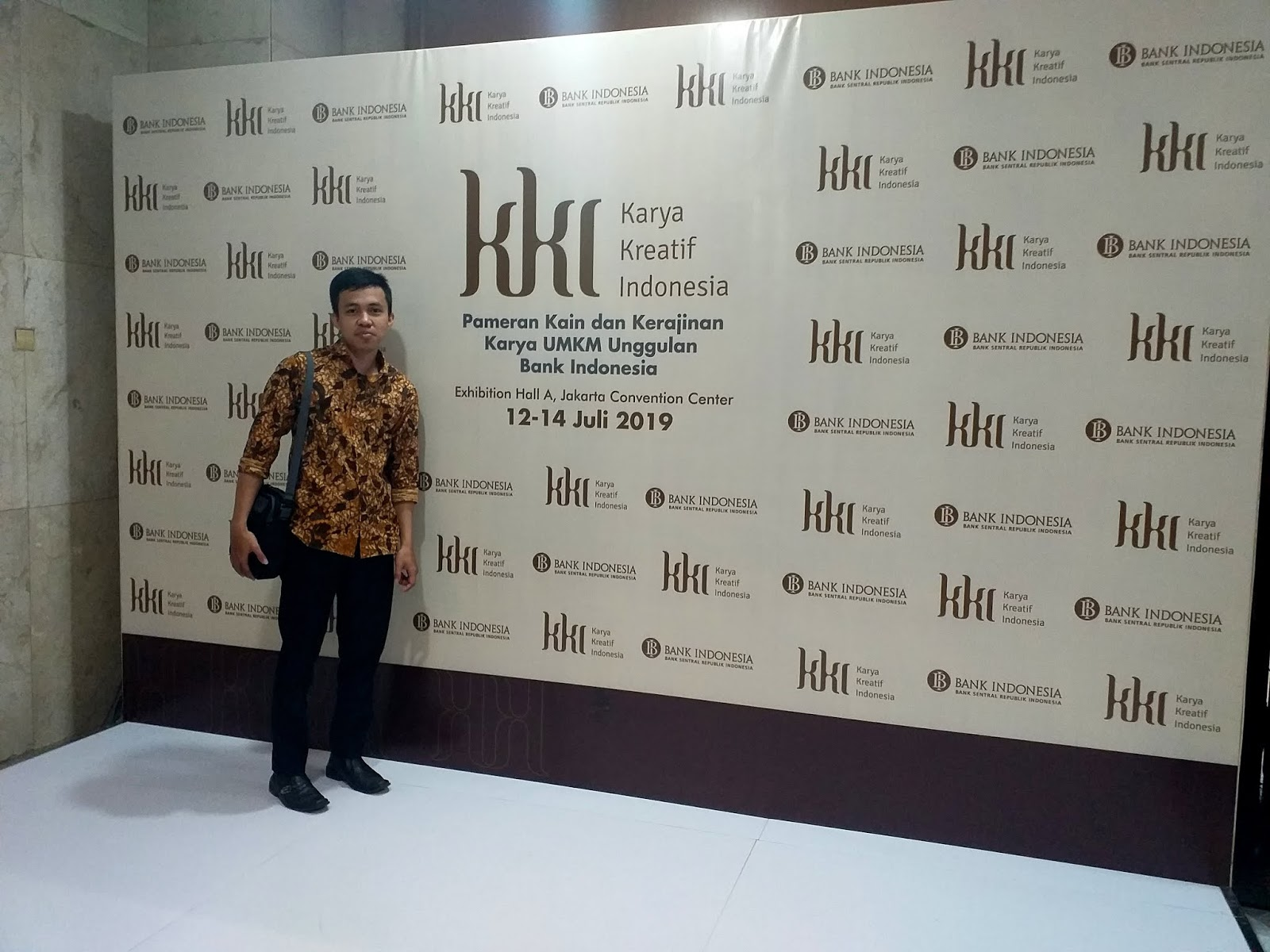 Pameran Karya Kreatif Indonesia 2019 Jakarta Convention Center