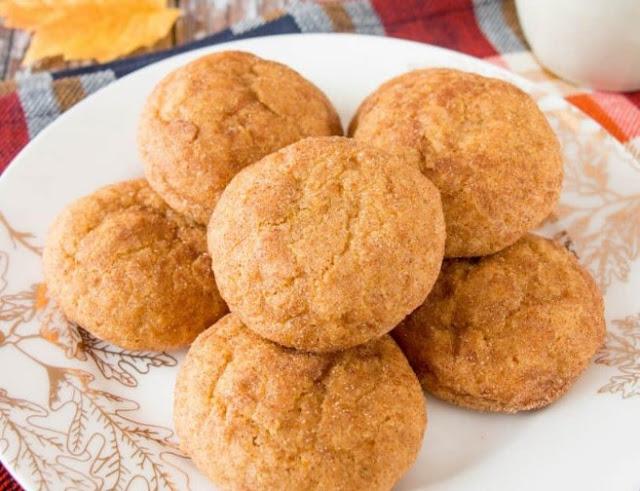Pumpkin Spice Cookies #desserts #cookies