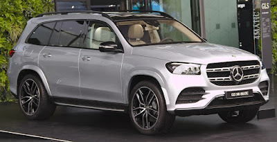 Mercedes GLS 450 price in india