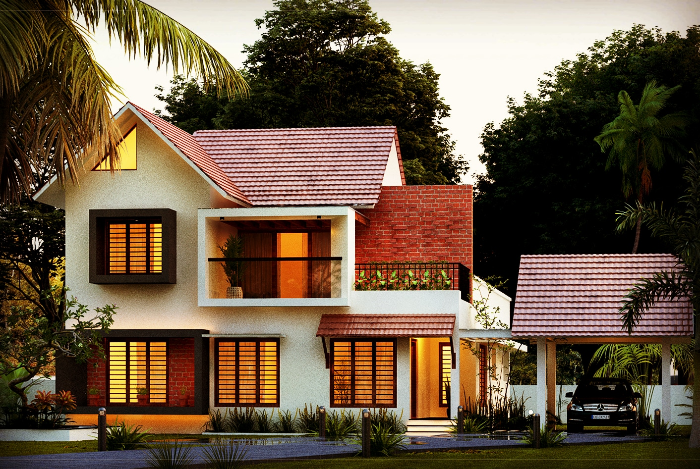 3 bedroom house plan 1950 sq ft 3 bed room residence