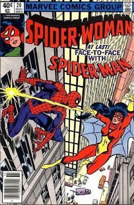 Spider-Woman #20, vs Spider-Man