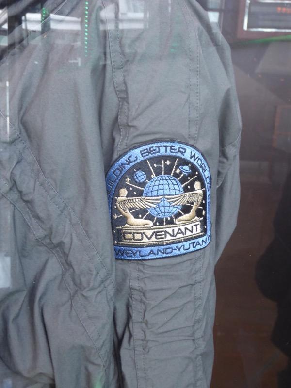 Alien Covenant Weyland-Yutani costume logo