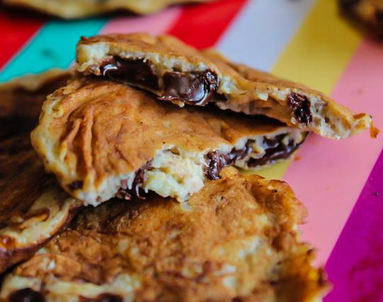gluten free pancake recipe // protein pancake recipe