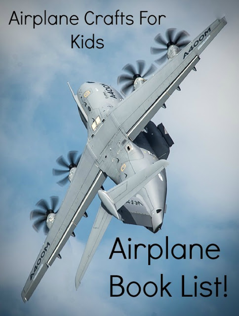 Airplane Crafts for Kids