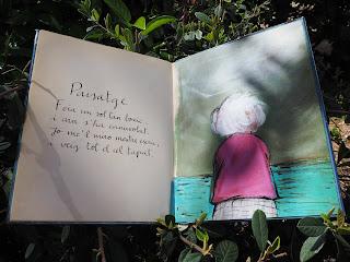 """Paisatge. Text: Conxita Pujadó Vergés; il·lustració: Carme Solé Vendrell. Del llibre """"Paraules estimades"""" ISBN 8448019806 per Teresa Grau Ros"""