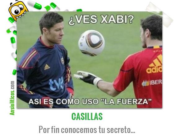 Chiste de la Selección Española: La Fuerza de Casillas
