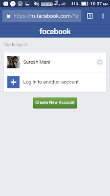 create Facebook account on browser