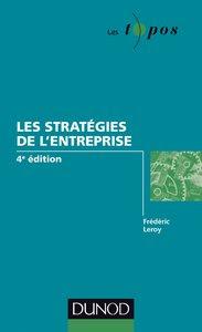 Télécharger Livre Gratuit Les stratégies de l'entreprise pdf