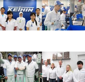 Lowongan Kerja Jobs : Operator Produksi, Staff IT System, Adm Staff Purchasing Min SMA SMK D3 S1 PT Keihin Indonesia Membutuhkan Tenaga Baru Besar-Besaran Seluruh Indonesia