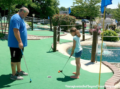 The Meadows Mini Golf on Jonestown Road in Harrisburg, Pennsylvania