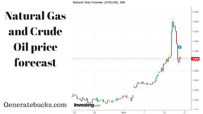 Natural Gas Futures and Crude Oil day trading tips for 16th November– Generatebucks.com
