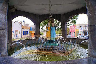 La fuente de los Muñecos - Leyenda de Puebla