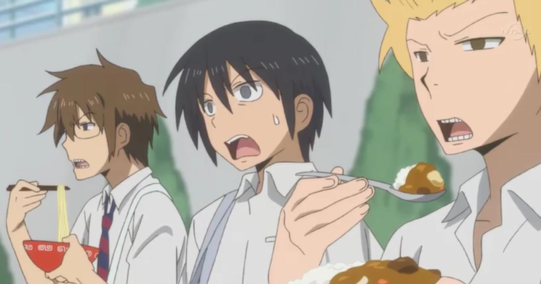 Anime Yang Bertemakan Anak SMA Botak Berjubah Web Anime