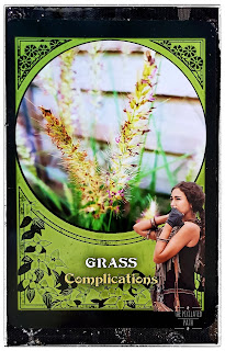 Grass Card from Rachel Patterson's Flower Magic Oracle