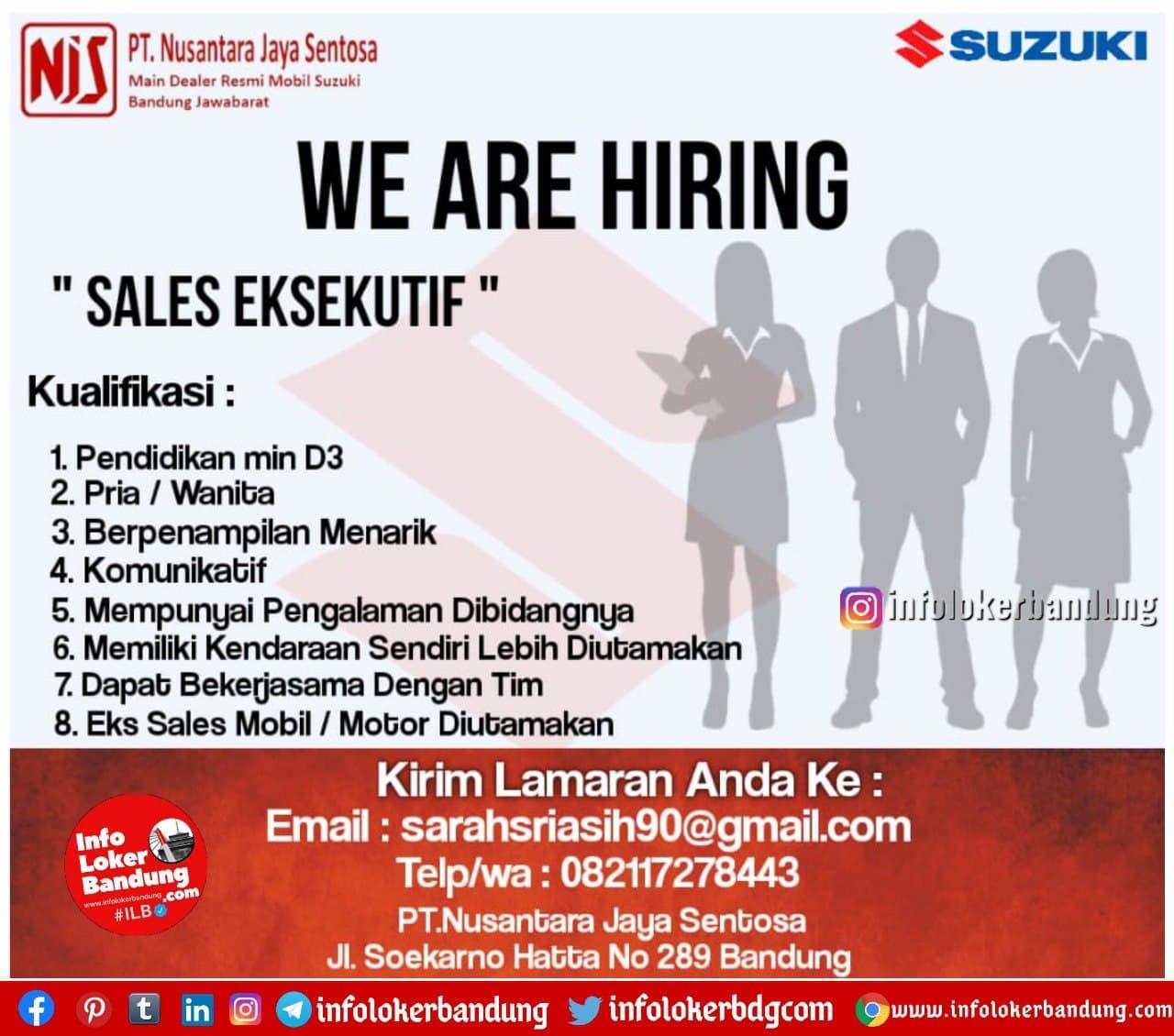 Lowongan Kerja PT. Nusantara Jaya Sentosa ( NJS) Bandung Januari 2021