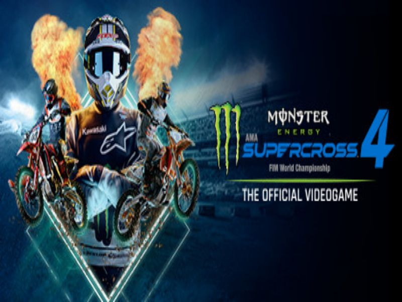 Download Monster Energy Supercross The Official Videogame 4 Game PC Free