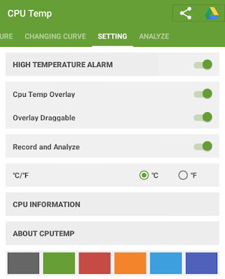 CPU Temp Settings