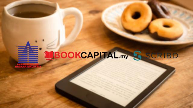 Akses Percuma Kepada Buku Digital scribd, perpustakaan negara, bookcapital