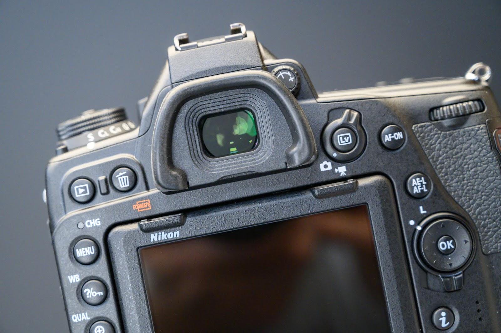 Видоискатель в Nikon D780