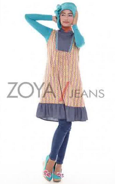 Trend Model Baju Muslim Zoya Terbaru