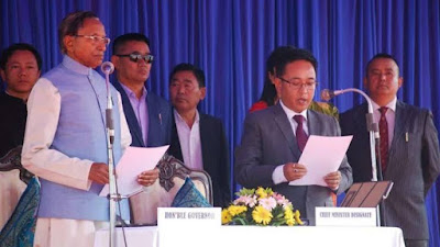 Prem Singh Tamang Sworn in as new Sikkim Chief Minister