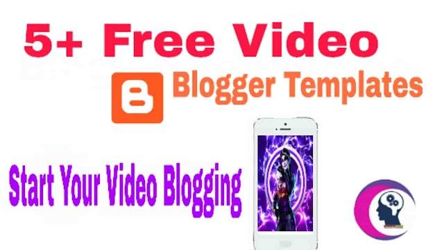 5 Best Video Blogger Templates Download and get bonus.