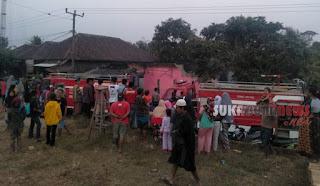 rumah guru smpn 3 surade terbakar