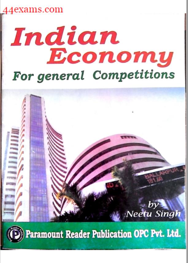 Paramount Economics : For All Competitive Exam PDF Book