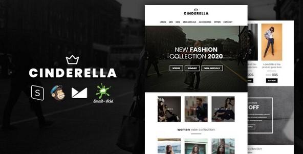 Cinderella v1.0 - E-commerce Responsive Email Template