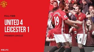 Manchester United Tampil Luar Biasa vs Leicester City