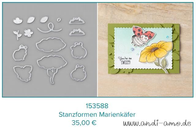 Stampin Up Stanzformen Marienkäfer