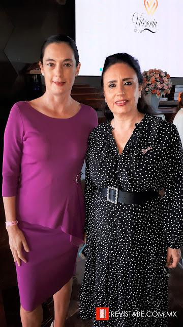 Inna German y Martha Rodríguez.