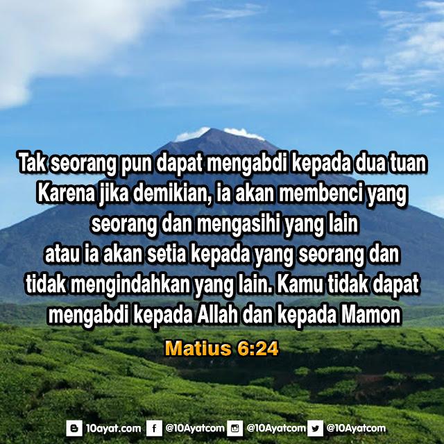 Matius 6:24