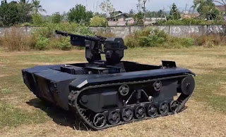 Unmanned Ground Combat Vechicle