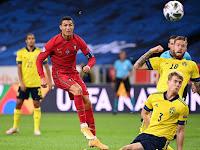 CETAK REKOR SEJARAH!! Ronaldo Menjadi Pemain Pertama Eropa Yang Mencetak 100-101 Gol di TIMNAS