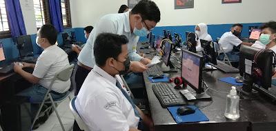 Kegiatan ANBK di SMK TI Bali Global Badung Selama 2 Hari Berlangsung Dengan Baik Dan Lancar.