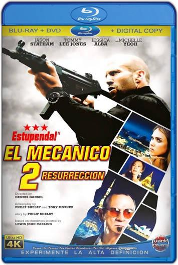 El mecánico: resurrección (2016) HD 1080p Español Latino