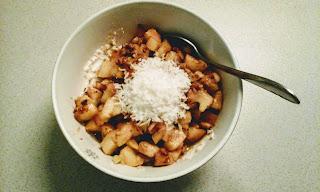 Apfel-Porridge Läuferfrühstück