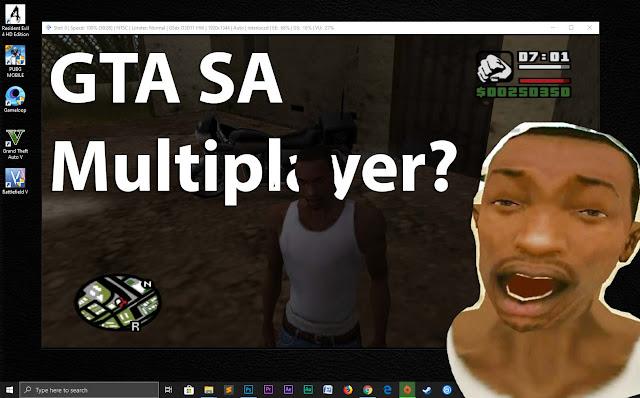 Ada beberapa cara agar GTA SA bisa multiplayer / 2 orang!