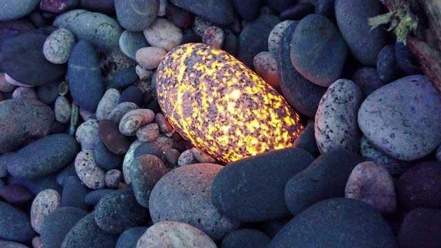 Glowing Rock