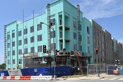 Washington DC new construction, Maryland Avenue, NE