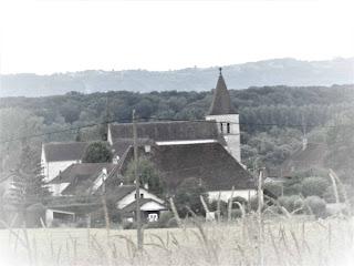 L'église Saint Christophe de Chissey sur Loue